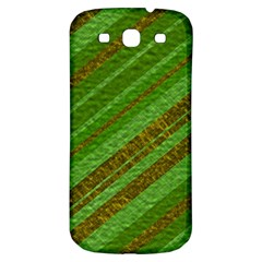 Stripes Course Texture Background Samsung Galaxy S3 S III Classic Hardshell Back Case