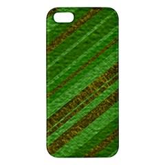 Stripes Course Texture Background Apple iPhone 5 Premium Hardshell Case