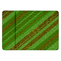 Stripes Course Texture Background Samsung Galaxy Tab 8.9  P7300 Flip Case