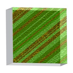 Stripes Course Texture Background 5  x 5  Acrylic Photo Blocks