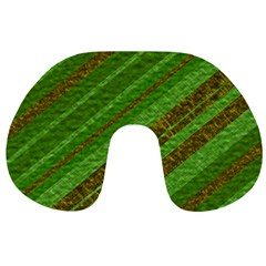 Stripes Course Texture Background Travel Neck Pillows
