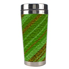 Stripes Course Texture Background Stainless Steel Travel Tumblers