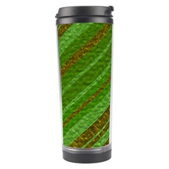 Stripes Course Texture Background Travel Tumbler