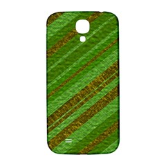 Stripes Course Texture Background Samsung Galaxy S4 I9500/I9505  Hardshell Back Case