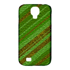 Stripes Course Texture Background Samsung Galaxy S4 Classic Hardshell Case (PC+Silicone)