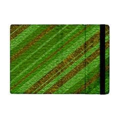 Stripes Course Texture Background iPad Mini 2 Flip Cases