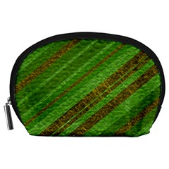 Stripes Course Texture Background Accessory Pouches (Large)