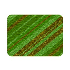Stripes Course Texture Background Double Sided Flano Blanket (Mini)