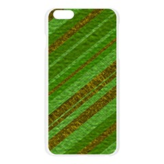 Stripes Course Texture Background Apple Seamless iPhone 6 Plus/6S Plus Case (Transparent)