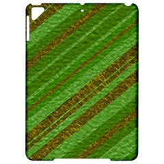 Stripes Course Texture Background Apple iPad Pro 9.7   Hardshell Case