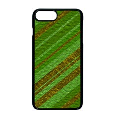 Stripes Course Texture Background Apple iPhone 7 Plus Seamless Case (Black)