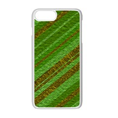 Stripes Course Texture Background Apple iPhone 7 Plus White Seamless Case