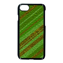 Stripes Course Texture Background Apple iPhone 7 Seamless Case (Black)