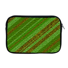 Stripes Course Texture Background Apple MacBook Pro 17  Zipper Case