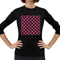 CIR2 BK-PK MARBLE (R) Women s Long Sleeve Dark T-Shirts