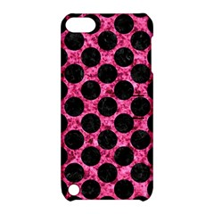 CIR2 BK-PK MARBLE (R) Apple iPod Touch 5 Hardshell Case with Stand