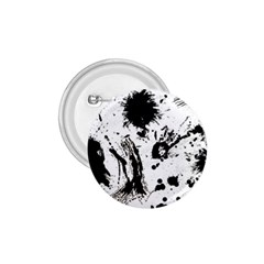 Pattern Color Painting Dab Black 1.75  Buttons