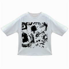 Pattern Color Painting Dab Black Infant/Toddler T-Shirts