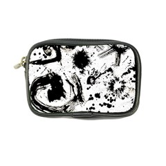 Pattern Color Painting Dab Black Coin Purse