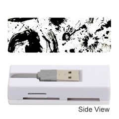Pattern Color Painting Dab Black Memory Card Reader (Stick)