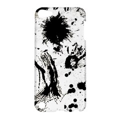 Pattern Color Painting Dab Black Apple iPod Touch 5 Hardshell Case