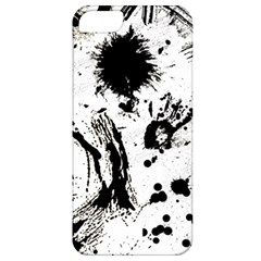 Pattern Color Painting Dab Black Apple iPhone 5 Classic Hardshell Case