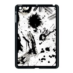 Pattern Color Painting Dab Black Apple iPad Mini Case (Black)