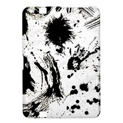 Pattern Color Painting Dab Black Kindle Fire HD 8.9