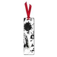 Pattern Color Painting Dab Black Small Book Marks