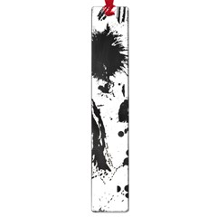 Pattern Color Painting Dab Black Large Book Marks