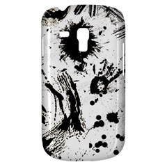 Pattern Color Painting Dab Black Galaxy S3 Mini