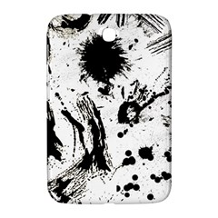 Pattern Color Painting Dab Black Samsung Galaxy Note 8.0 N5100 Hardshell Case