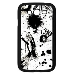 Pattern Color Painting Dab Black Samsung Galaxy Grand DUOS I9082 Case (Black)