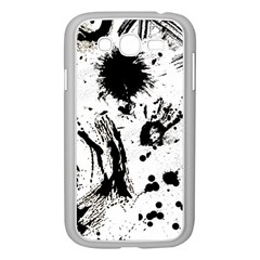 Pattern Color Painting Dab Black Samsung Galaxy Grand DUOS I9082 Case (White)