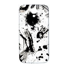 Pattern Color Painting Dab Black Samsung Galaxy S4 I9500/I9505  Hardshell Back Case