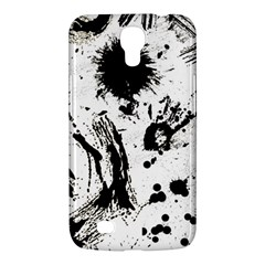 Pattern Color Painting Dab Black Samsung Galaxy Mega 6.3  I9200 Hardshell Case