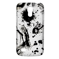 Pattern Color Painting Dab Black Galaxy S4 Mini