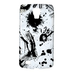 Pattern Color Painting Dab Black Galaxy S4 Active