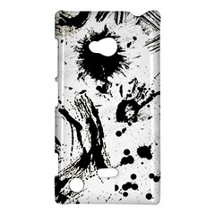 Pattern Color Painting Dab Black Nokia Lumia 720