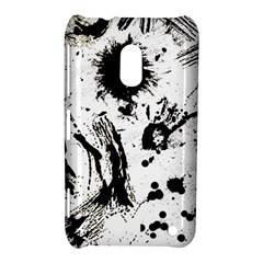 Pattern Color Painting Dab Black Nokia Lumia 620