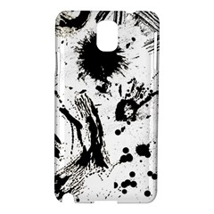 Pattern Color Painting Dab Black Samsung Galaxy Note 3 N9005 Hardshell Case