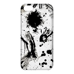 Pattern Color Painting Dab Black Apple iPhone 5C Hardshell Case