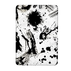 Pattern Color Painting Dab Black Samsung Galaxy Tab 2 (10.1 ) P5100 Hardshell Case