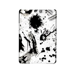 Pattern Color Painting Dab Black iPad Mini 2 Hardshell Cases