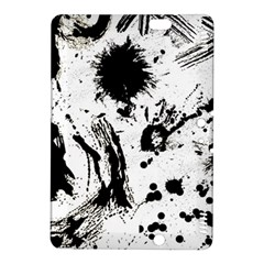 Pattern Color Painting Dab Black Kindle Fire HDX 8.9  Hardshell Case