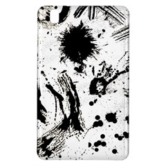 Pattern Color Painting Dab Black Samsung Galaxy Tab Pro 8.4 Hardshell Case