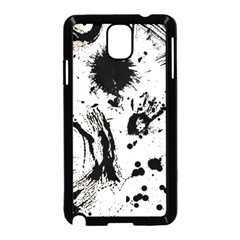 Pattern Color Painting Dab Black Samsung Galaxy Note 3 Neo Hardshell Case (Black)