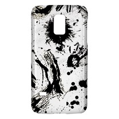 Pattern Color Painting Dab Black Galaxy S5 Mini