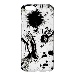 Pattern Color Painting Dab Black Apple iPhone 6 Plus/6S Plus Hardshell Case