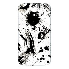 Pattern Color Painting Dab Black Samsung Galaxy Mega I9200 Hardshell Back Case